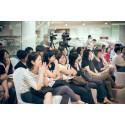 Edits Inc workshop participants sharing a laugh