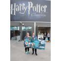 Grattis till den 100 000:e besökaren på Harry Potter: The Exhibition
