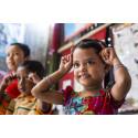 60 miljoner kronor från H&M Foundation till barns tidiga utveckling