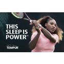 TEMPUR® är mycket glada över att kunna presentera ett nytt globalt samarbete  med tennis-ikonen Serena Williams