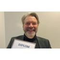 Einar Mattsson fick Hederskristallen på Aktiv Bo-gala