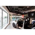 Frico gör entrén komfortabel i Teslas butik i Göteborg