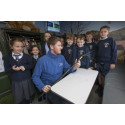 ​Largs pupils get a lesson with fibre broadband