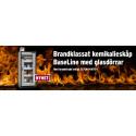 Brandklassat kemikalieskåp med glasdörr