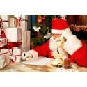 Vi er vilde med at ringe til julemanden