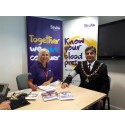 Lord Mayor of Nottingham leads the way at Know Your Blood Pressure event