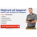 ServiceFinders Nyhetsbrev: Högtryck: Byggarna blir uppbokade inför sommaren!