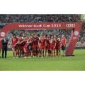 FC Bayern München holt Audi Cup 2013