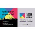 Massor med nyheter på premiären av Möbelmässan Göteborg