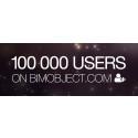BIMobject® Cloud – passerat 100 000 professionella användare