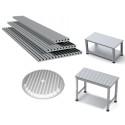 Isels T-not-aluminiumprofil PT25 är användbar för många olika ändamål inom industri- och maskinteknik.