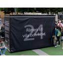 Den första september invigs Lidingös kub för  mänskliga rättigheter i Kungsträdgården