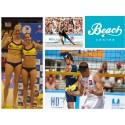 OS kvalande och legendar på Beach Center i Påsk