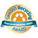 Logo Swedish recycling award
