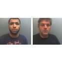 Two men jailed in £840k smuggling fraud