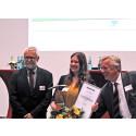 Lilienthal-Preis 2018 an Luftfahrttechnik/Luftfahrtlogistik-Absolventin Henrike Fabienke