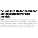 Kivra och Digimails VD:ar i gemensam debattartikel om ersättningsmodell för digitalt porto