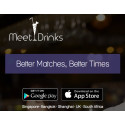 To help bridge singles over the festive period, MeetDrinks launches iOS and Android app