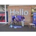 Greet man goes the extra mile for the Stroke Association