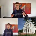 """Der 18-Jährige Julius aus Bamberg ist der Gewinner des """"Gute-Laune-Stipendium"""" im Wert von 9.500 Euro."""