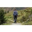 Ensom vandrer i Rebild Bakker