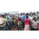 Scouter skapar meningsfull vardag för flyktingbarn i Kongo