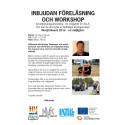 Inbjudan till föreläsning och workshop i Norsjö