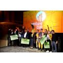 Jordskredsseger i Venture Cups Sverigefinal