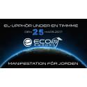 Idag, den 25 mars 2017, är det EL-upphör med Earth Hour klockan 20:30 lokal tid