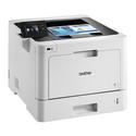 Brother HL-L8360CDW tulostimessa on suuri kosketusnäyttö. Monipuoliset tulostimen paperikapasiteettia voidaan laajentaa lisäpaperikasetein.