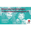 Pressinbjudan: Framtidsdag på Karlsgatan 2, 15 december kl.12-16