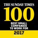Cadline awarded in the top 50 best small employers