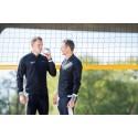 Vitamin Well i samarbete med beachvolleyspelarna Martin Appelgren och Simon Bohman