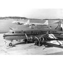 KLM firar 80 år av flygningar mellan Stockholm och Amsterdam