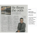 Evorich Article Featuring on Sunday Times Newspaper (20 Nov 2011)