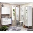Möbelserien Uddens nu även med låda. Praktisk förvaring även för de små badrummen.