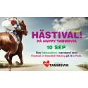 Hästival på Happy Tammsvik - Stockholms roligaste konferensanläggning blir plats för stor hästauktion.