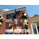 Boken Det Goda Tramset i sociala medier vid Universal Studios, Hollywood, Kalifornien