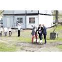 Första spadtaget av kulturhus Storbrunn tas