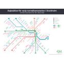 Dejtkarta över Stockholm - station för station