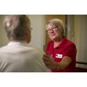 Karin Bjelksjö är volontär på Hjärtsviktsavdelningen på Danderyds sjukhus.