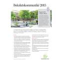 Akademiska Hus bokslutskommuniké 2015