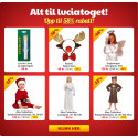 Alt til luciatoget fra 29 kr! | -26% på Babybjörn Miracle! | Opp til 62% på dukker, dukkehus, dukkevogner | -50% på LEGOs sprinkelsengsbeskyttelse, stellemadrass, lekematter