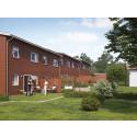 Nu startar försäljningen av BoKlok-radhus i Upplands Väsby