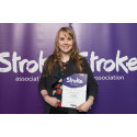 ​Knutsford stroke survivor receives regional recognition