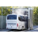 Tilläggsprogrammet för snabbtvätt gör att ett fordon kan lämna tvätten efter att portalen svept över den en gång.