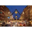 1 miljon juleljus lyser upp Stockholms city