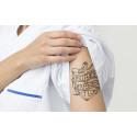 Redo för tatuering på Swedental-mässan?