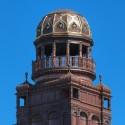 Södra tornet på Centralposthuset har återfått sin forna glans
