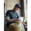 Keramiker Alexander Krohn årets utställare på Elfstrands